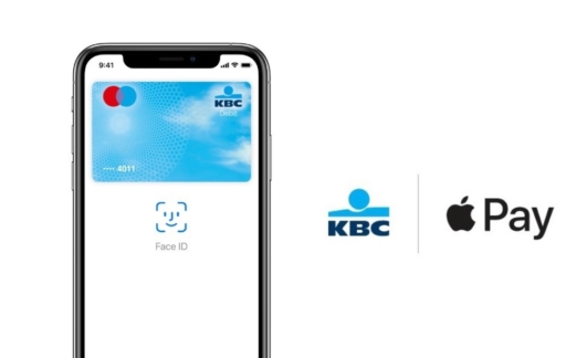 KBC Bank Apple Pay start.