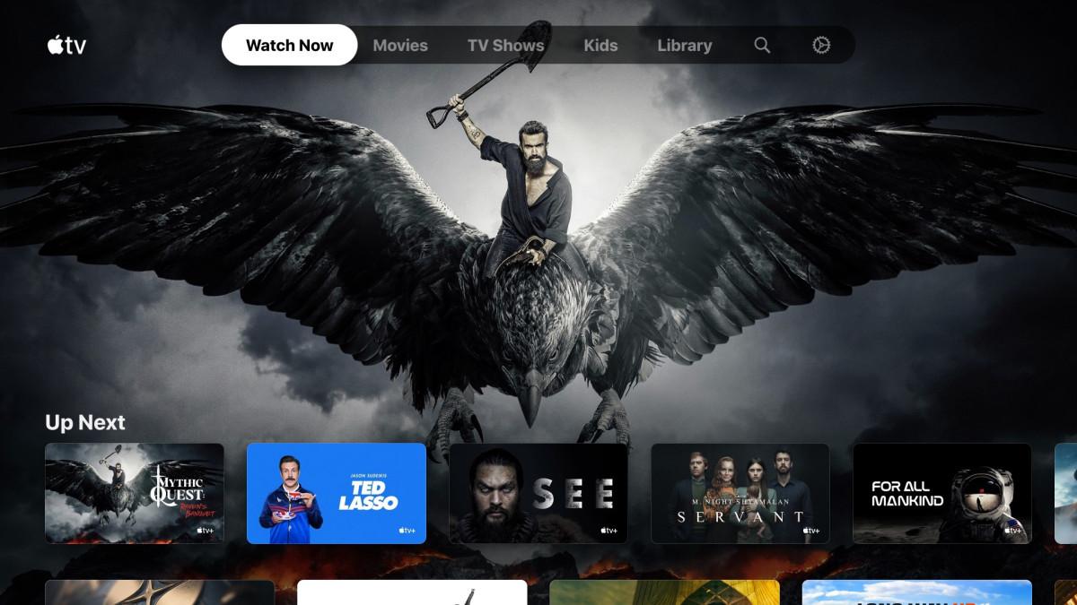 Apple TV-app op Xbox.