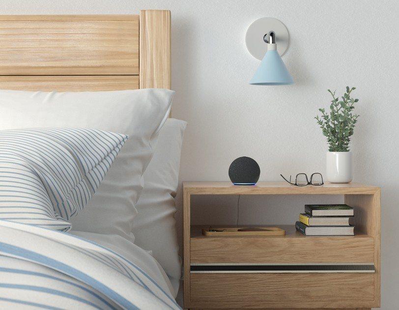 Amazon Echo Dot slaapkamer