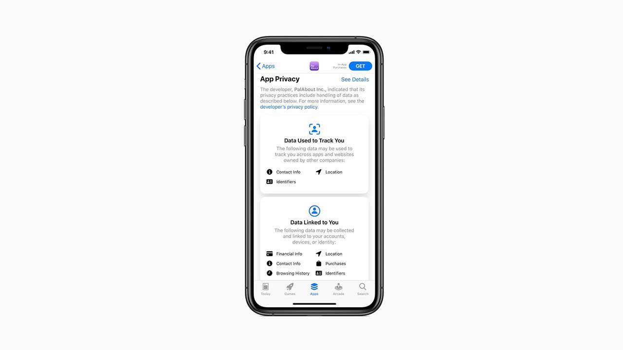 Privacylabel voor apps