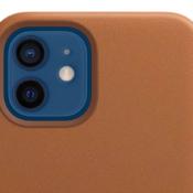 Leren case iPhone 12