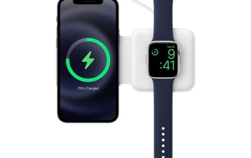 MagSafe Duo Charger voor iPhone en Apple Watch.