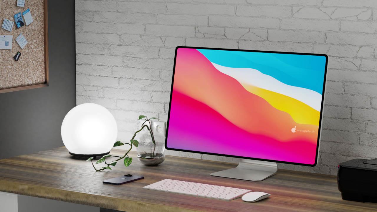 iMac 2021 concept