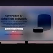 'Apple combineert HomePod en Apple TV in één nieuw product'