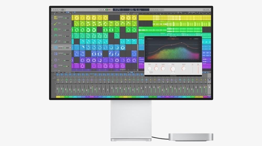 Mac mini met M1 en XDR display