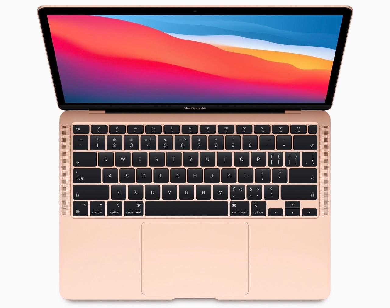 MacBook Air M1 toetsenbord