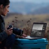 MacBook Pro gebruiken in de natuur