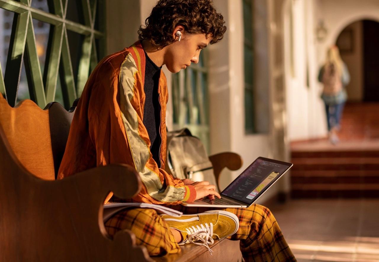 MacBook Pro gebruiken op school