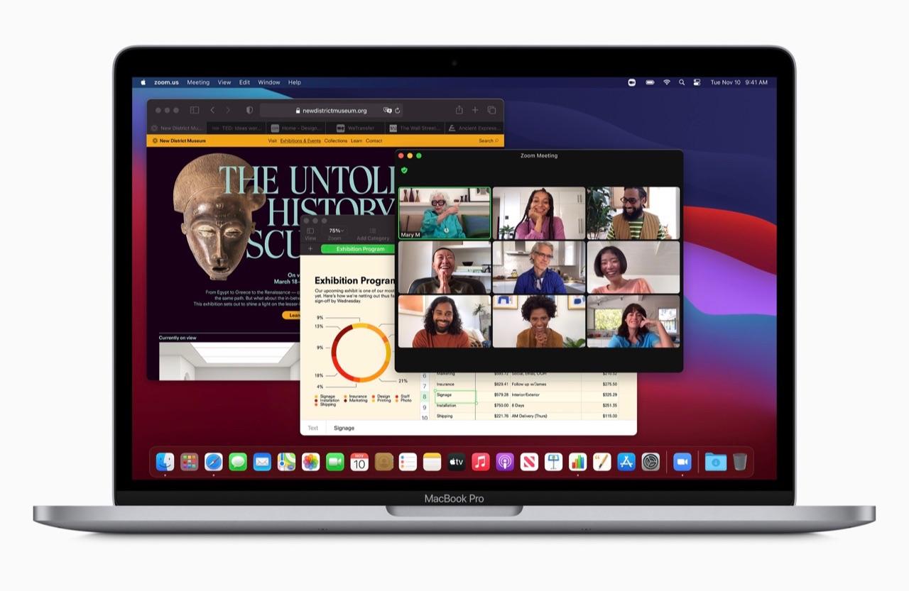 MacBook Pro me M1