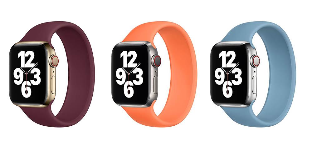 Winterkleuren 2020 Apple Watch bandjes