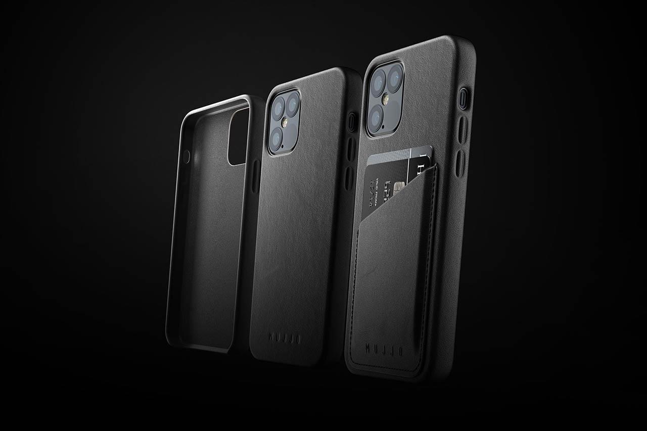 Mujjo iPhone 12 mini cases van leer