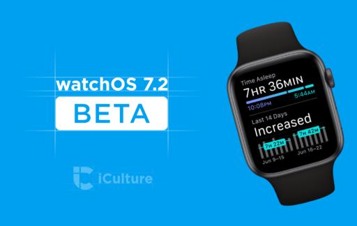 watchOS 7.2 beta.