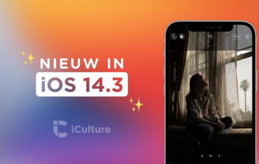 Nieuwe functies in iOS 14.3.