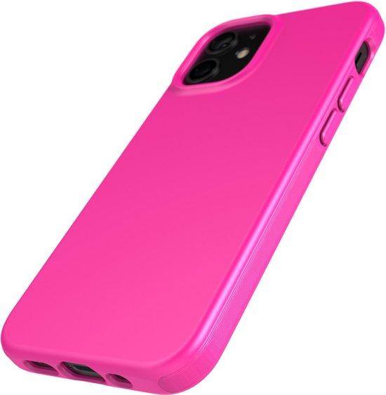 Tech21 iPhone 12 mini case in roze.