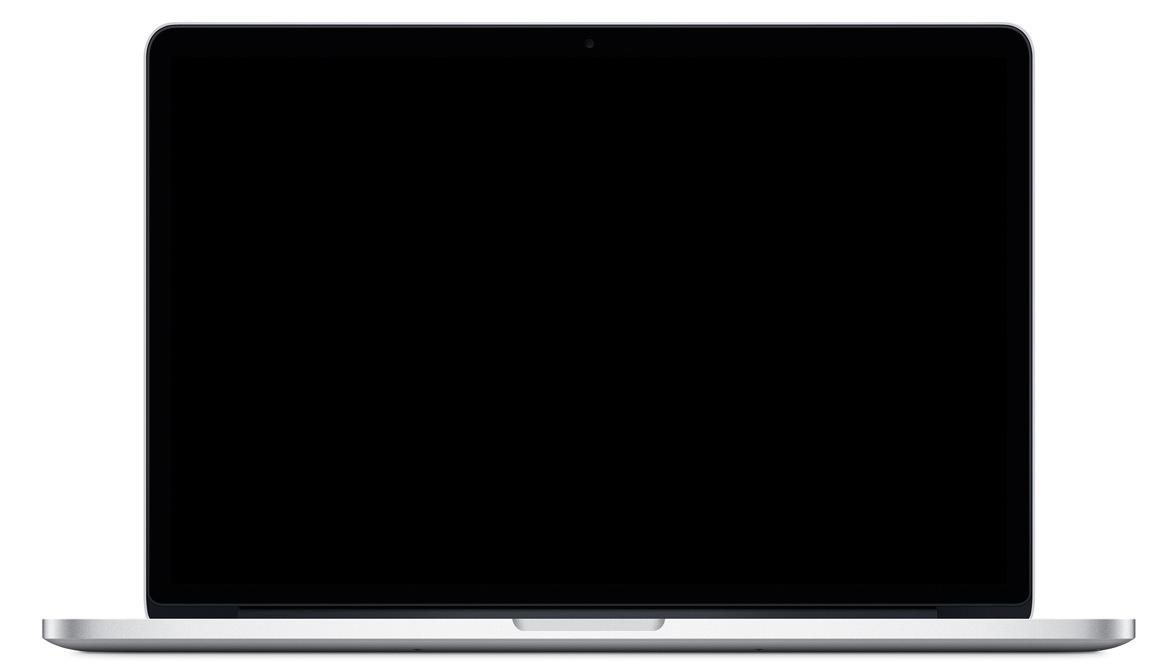 MacBook Pro zwart scherm