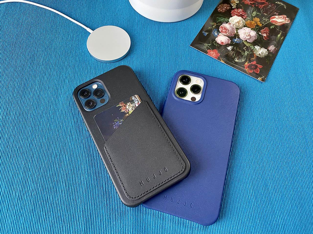 Mujjo-hoesjes voor iPhone 12
