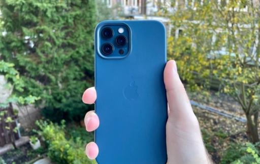 Leren hoes voor iPhone 12 Pro Max