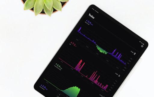 HomeWizard Energy op iPad
