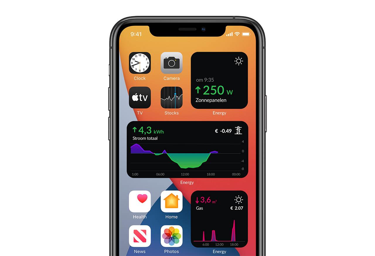 HomeWizard Energy widgets