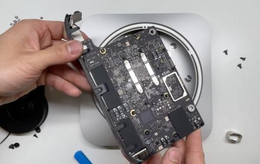 Mac mini m1 teardown.