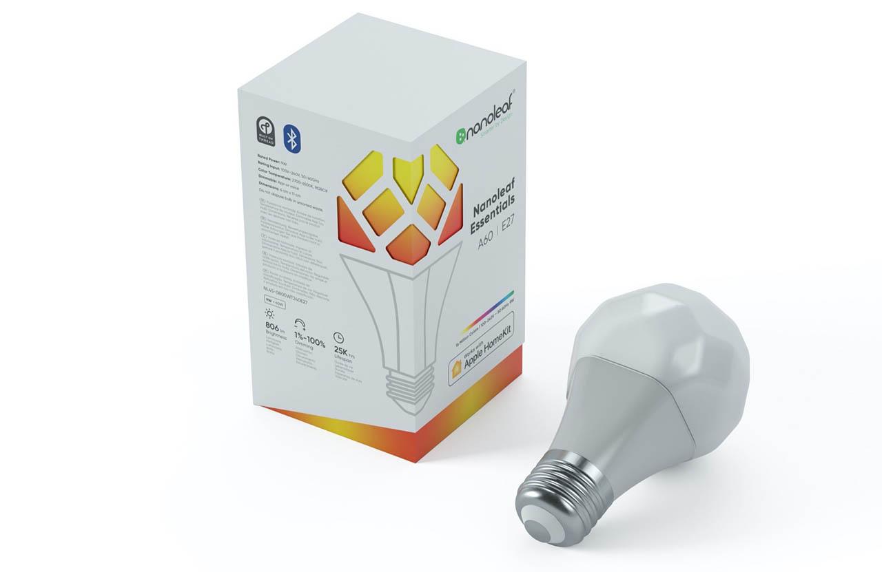 Nanoleaf lamp verpakking