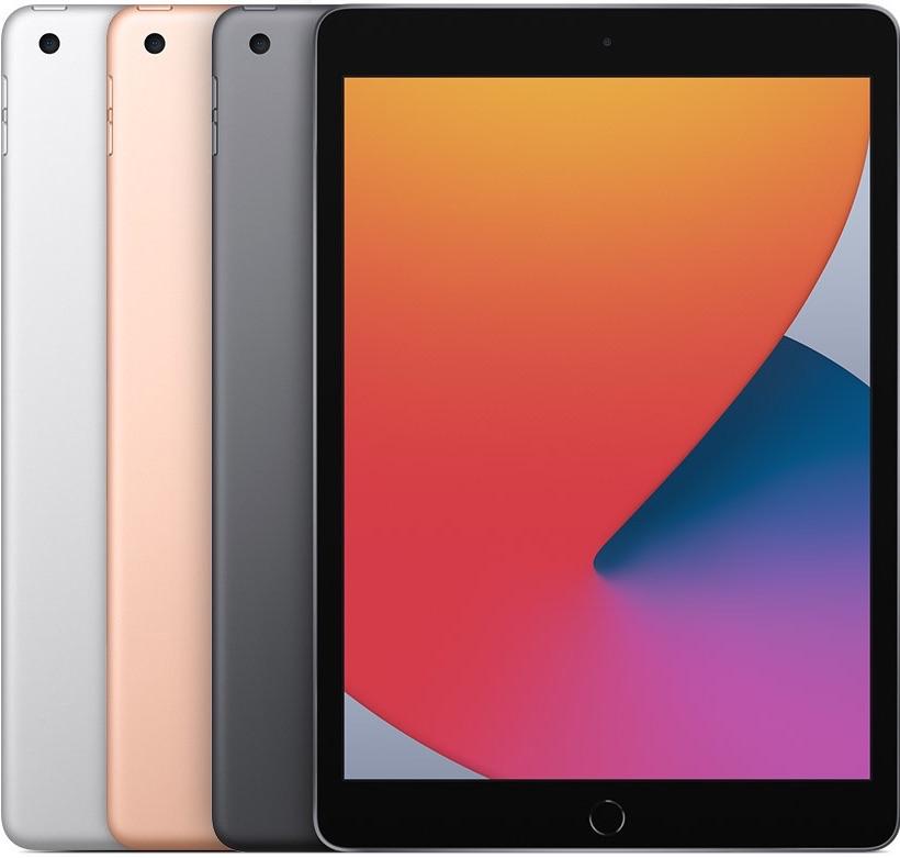 iPad 2020 8e generatie kleuren.