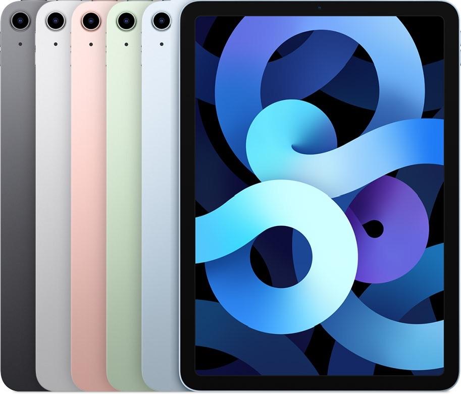 iPad Air 2020 4e generatie kleuren.