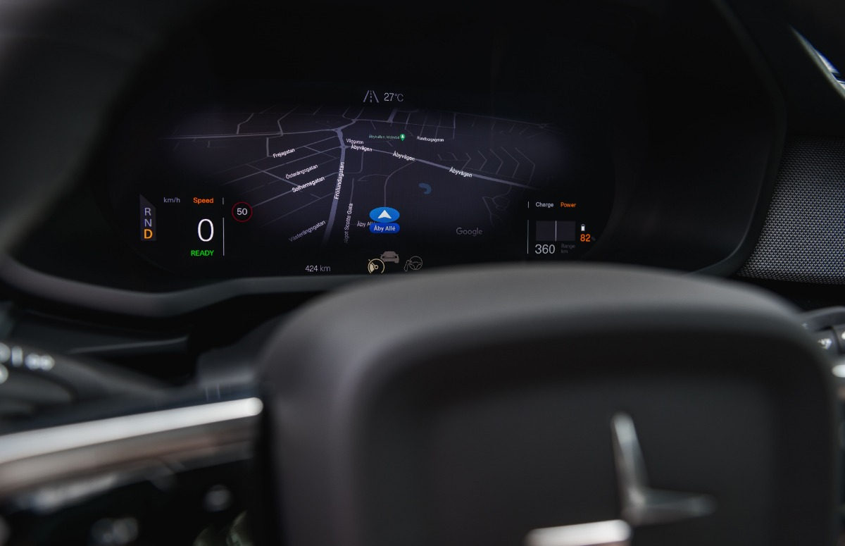 Android Automotive close-up