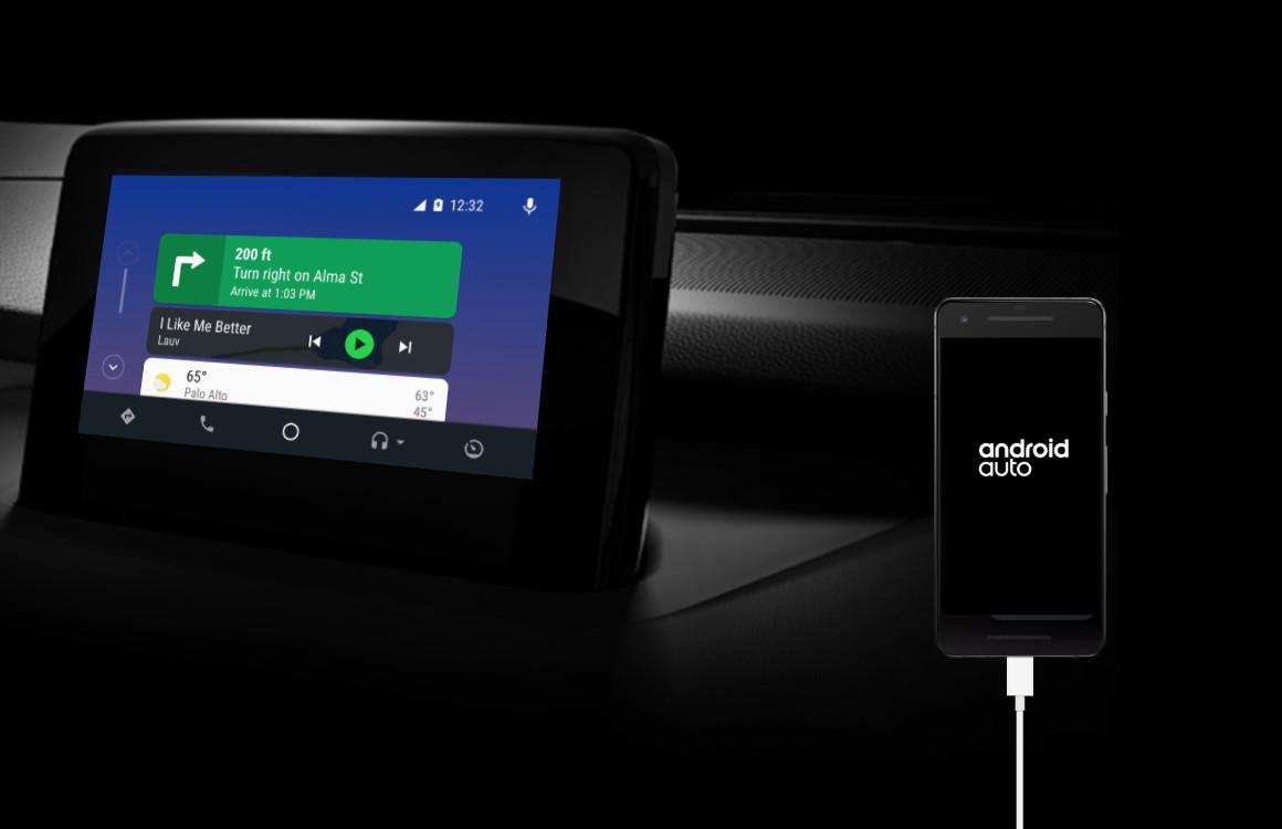 Android Auto dark mode