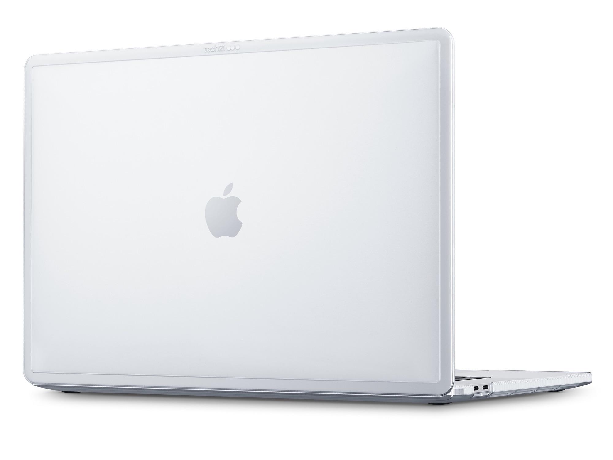 Tech21 Clear Case voor 16-inch MacBook Pro.
