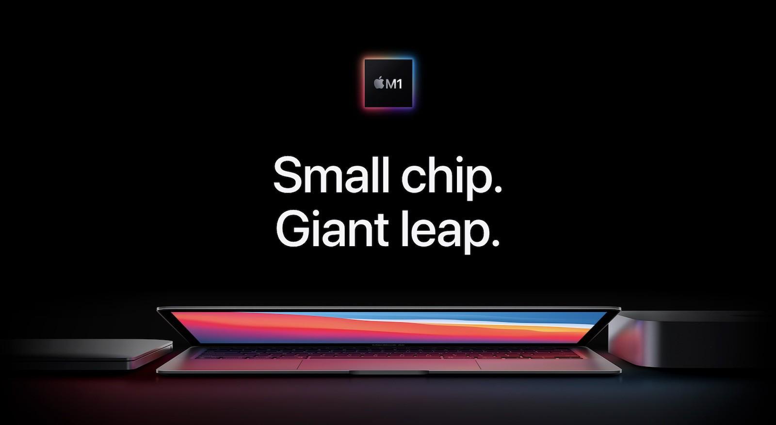 M1 chip MacBooks