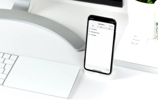 Safari-bladwijzers op de iPhone.