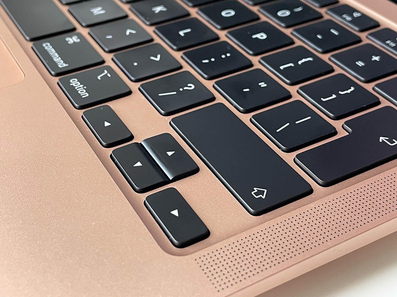 MacBook Air M1 review: toetsenbord