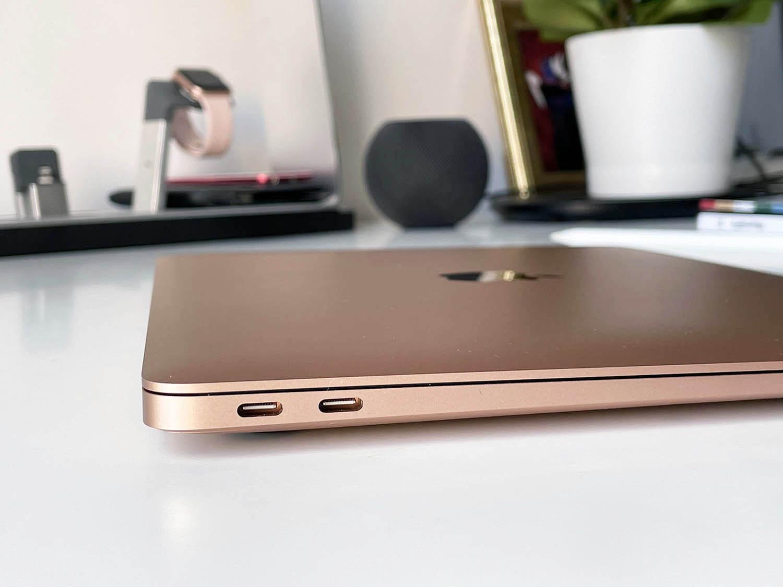 MacBook Air M1 review: bovenkant