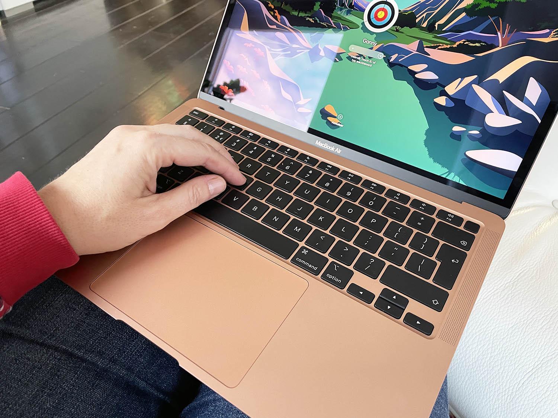 MacBook Air M1 review: scherm