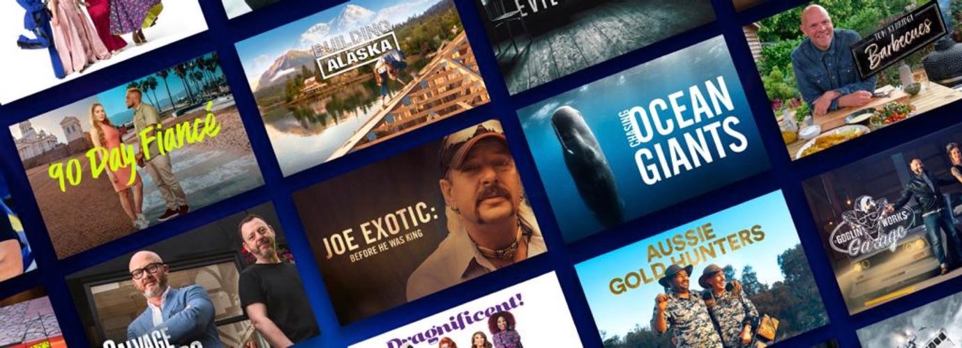 Discovery+: aanbod van nieuwe streamingdienst.