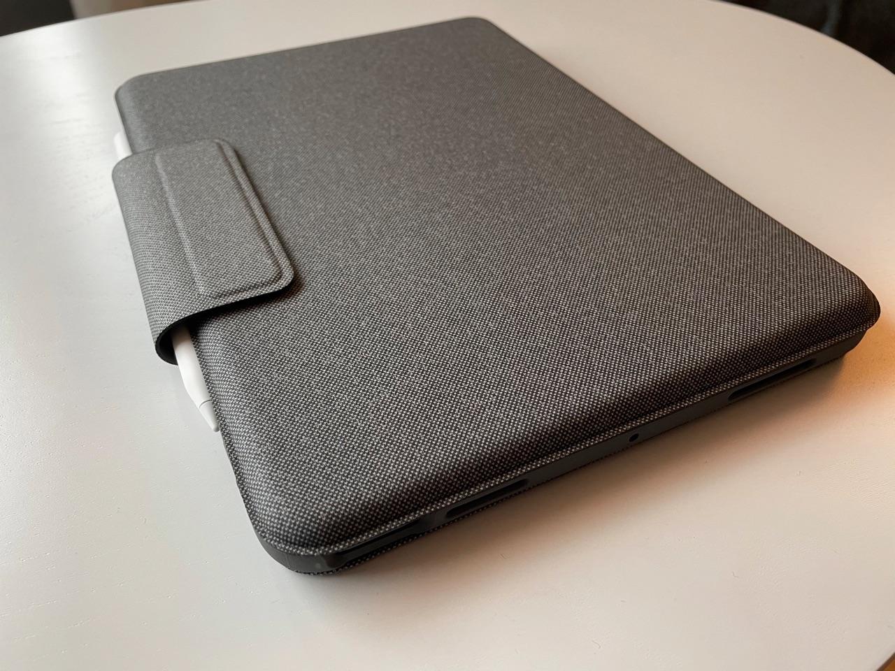 Buitenkant Logitech Folio Touch.