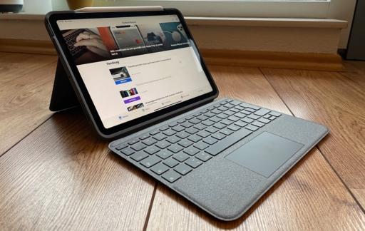Logitech Folio Touch review: toetsenbordhoes voor iPad.