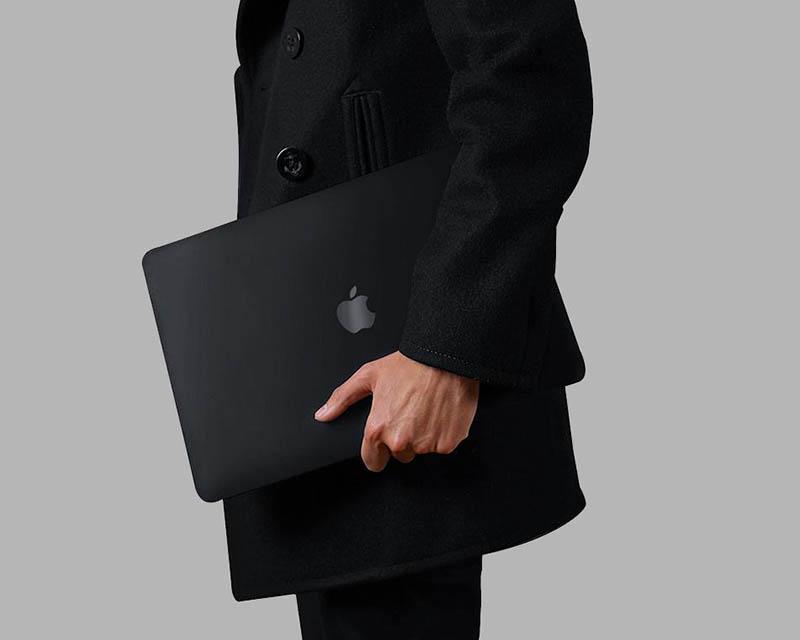 Zwarte MacBook