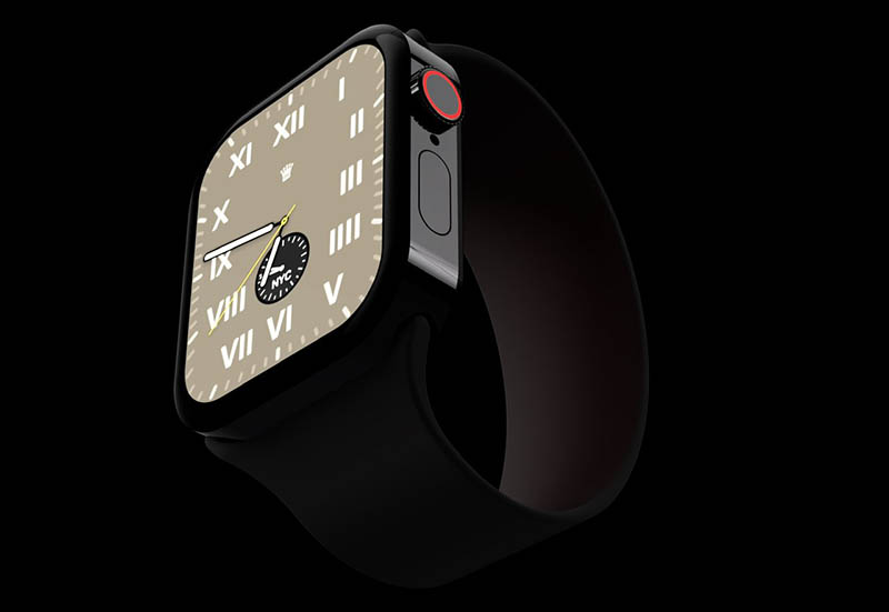 Apple Watch Series 7 concept: voorkant