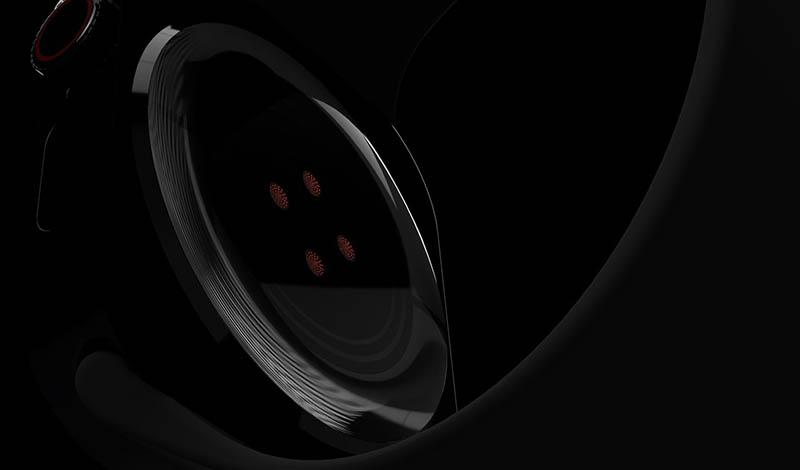 Apple Watch Series 7 concept: hartslagmeter