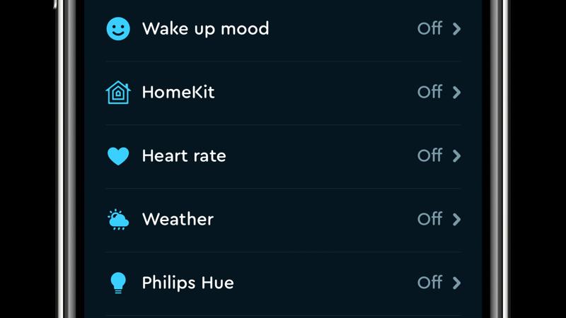 Sleep Cycle met HomeKit.
