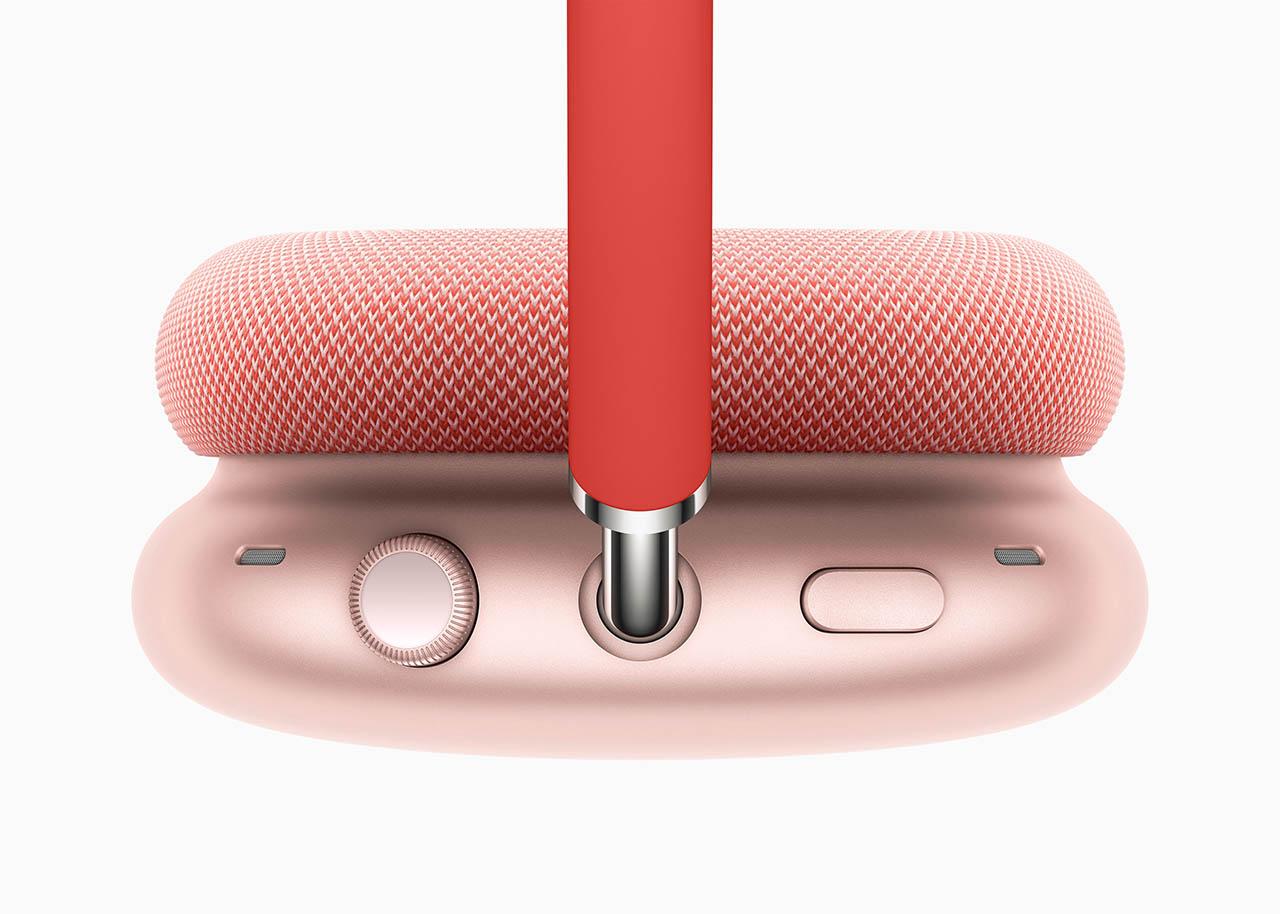 AirPods Max oorschelp met knopjes.