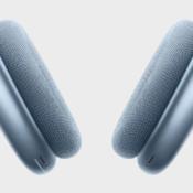 AirPods Max hemelsblauw