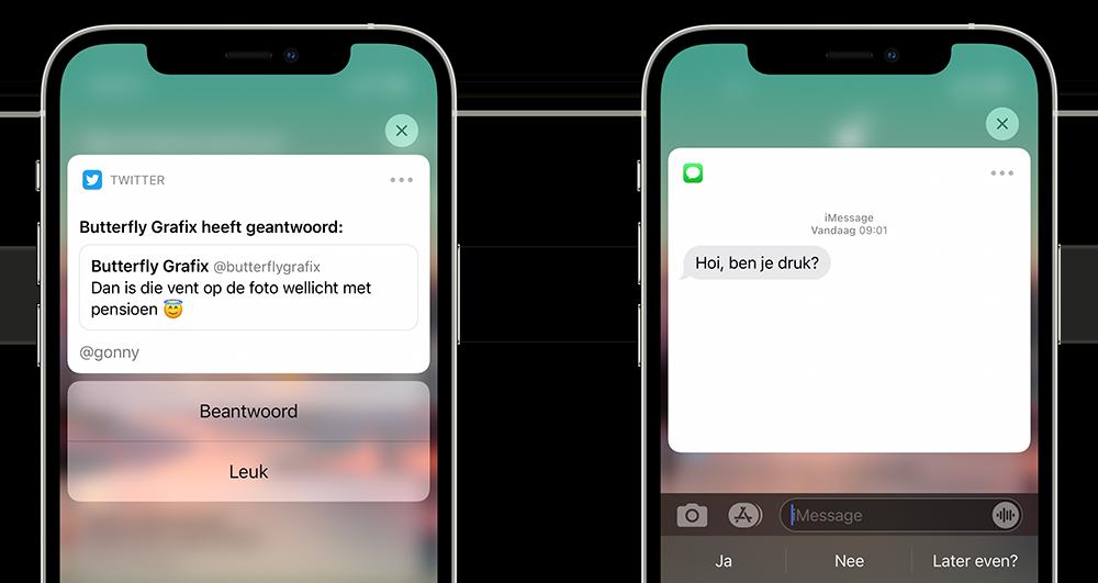 Rijke notificaties iOS