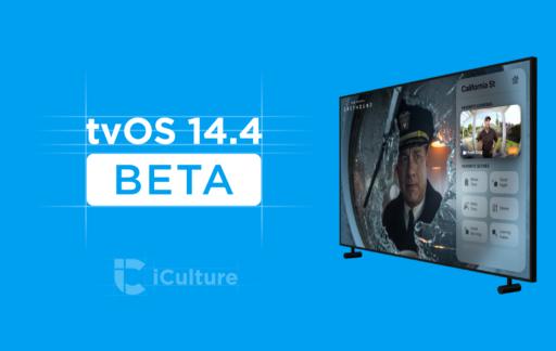 tvOS 14.4 beta.
