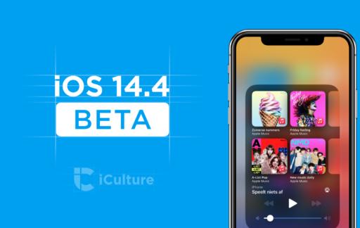 iOS 14.4 beta.