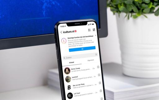Instagram-functies uitgeschakeld