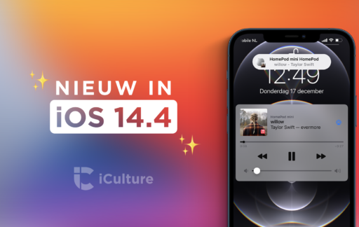 iOS 14.4 functies.
