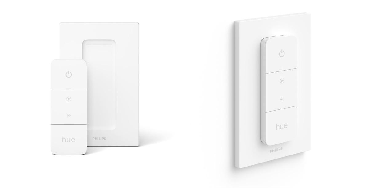 Philips Hue Dimmer Switch design voor 2021.